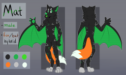 Fursonas/Characters 2020-03-30